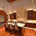 Tủ bếp gỗ tự nhiên – TVN917