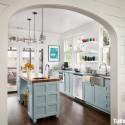 Nội thất Tủ Bếp   Tủ bếp gỗ tự nhiên– TVN321