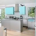 Tủ bếp gỗ công nghiệp – TVN761