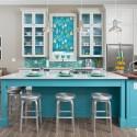 Tủ bếp gỗ tự nhiên – TVN643