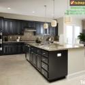 Tủ bếp gỗ tự nhiên – TVN998