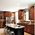 Tủ bếp gỗ tự nhiên – TVN557