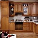 Tủ bếp gỗ Tần Bì – TVB642