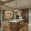 Tủ bếp gỗ tự nhiên – TVN742