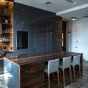 Tủ bếp gỗ tự nhiên  công nghiệp – TVN616