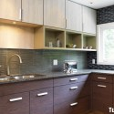 Tủ bếp MDF Laminate   TVB558