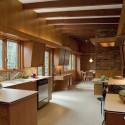 Tủ bếp gỗ tự nhiên + công nghiệp – TVN1173