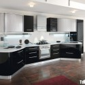 Tủ bếp gỗ MDF Acrylic – TVB421