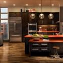 Tủ bếp laminate có đảo   TVB0919