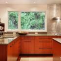 Tủ bếp gỗ công nghiệp – TVN1077