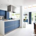 Tủ bếp gỗ công nghiệp – TVN1175