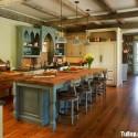 Nội thất Tủ Bếp   Tủ bếp gỗ tự nhiên – TVN383