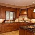 Tủ bếp gỗ xoan đào – TVB507