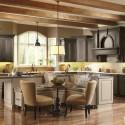 Nội thất Tủ Bếp   Tủ bếp gỗ tự nhiên – TVN471
