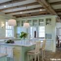 Nội thất Tủ Bếp   Tủ bếp gỗ tự nhiên – TVN446