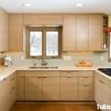 Tủ bếp gỗ công nghiệp – TVN1131