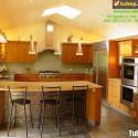 Tủ bếp gỗ tự nhiên – TVN1004