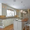 Tủ bếp gỗ tự nhiên – TVN686