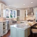 Tủ bếp gỗ tự nhiên – TVN534