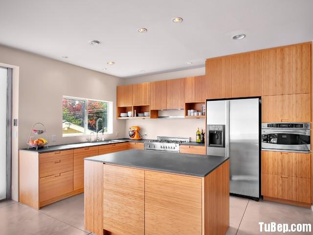 6580b5bd4bep 158.jpg Tủ bếp gỗ Laminate hình chữ L màu vân gỗ nhạt có đảo TVT0700