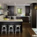 Tủ bếp gỗ công nghiệp – TVN1373