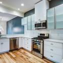 Tủ bếp gỗ công nghiệp – TVN1133