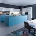 Tủ bếp gỗ công nghiệp – TVN889