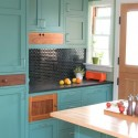 Nội thất Tủ Bếp   Tủ bếp gỗ tự nhiên – TVN357
