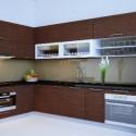 Tủ bếp MDF Laminate   TVB438