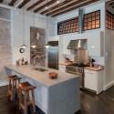 Tủ bếp gỗ công nghiệp – TVN502