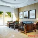 Phòng khách thu hút quý nhân